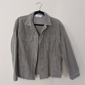 Carly Jean Los Angeles Frankie corduroy jacket